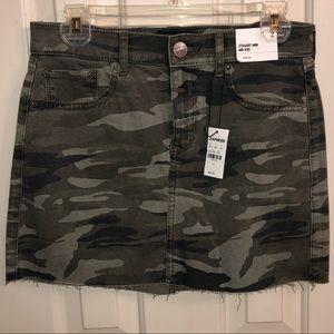 Express Camo Skirt